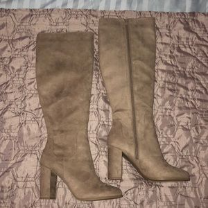 Madden Girl Klash Taupe Fab Boot